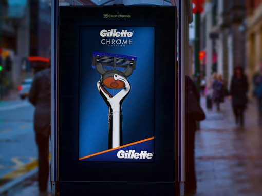 3D animation promotion – P&G Gillette