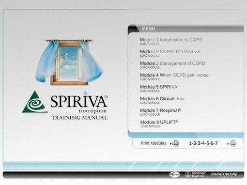 Spiriva E-Learning Manual – Boehringer Ingelheim/Pfizer